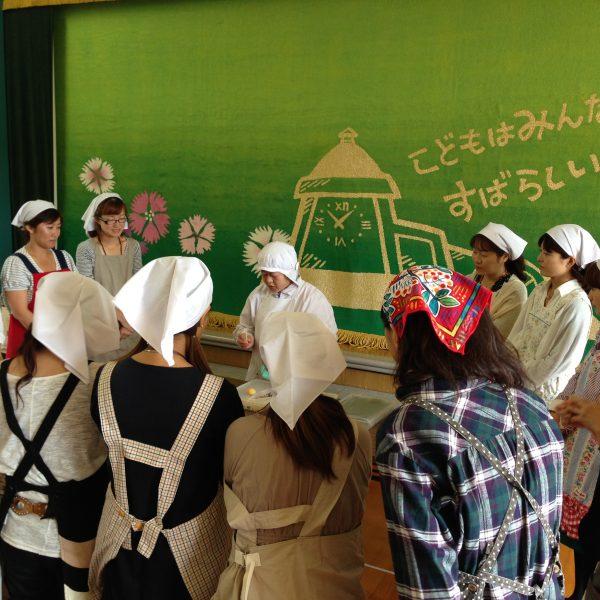 阪急幼稚園保護者会お菓子教室
