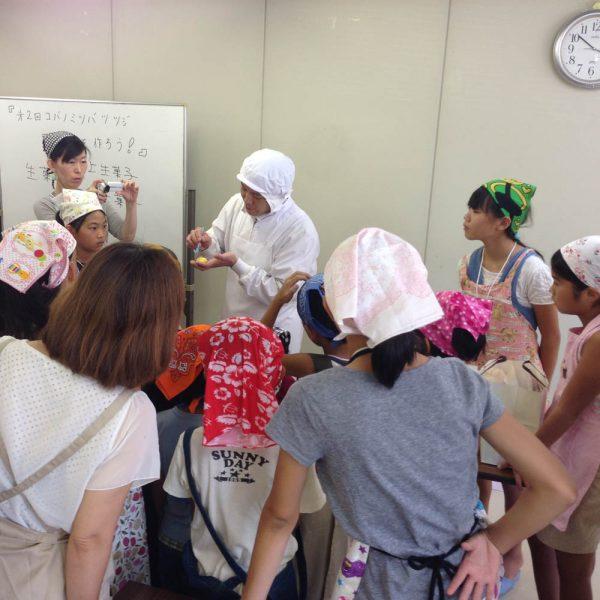 広田コミュニティ 和菓子教室