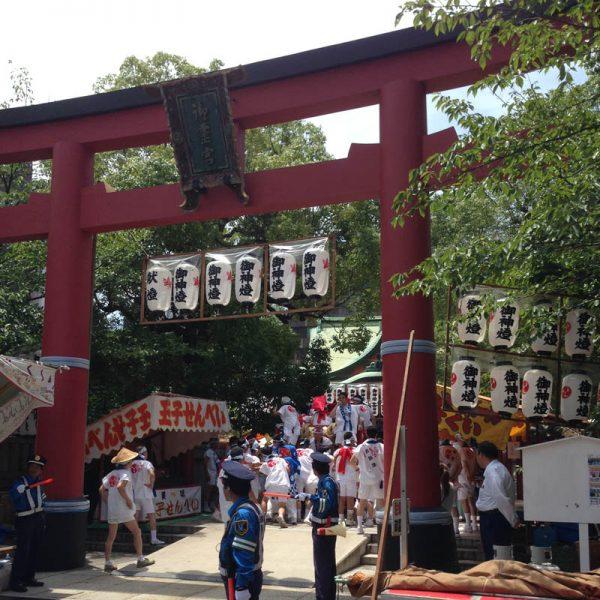 御霊神社 夏祭り